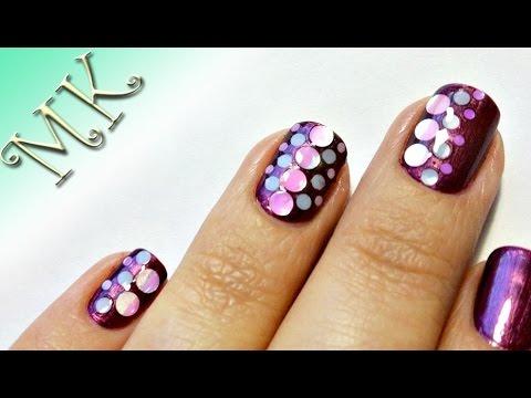 дизайн ногтей с камифубиками видео 7
