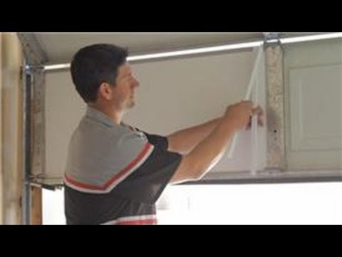 Garage Door Help : How To Insulate A Garage Door   YouTube