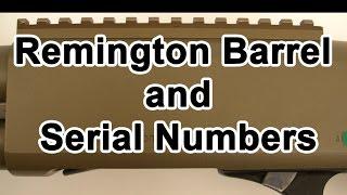 1100 serial numbers remington model Remington 1100,