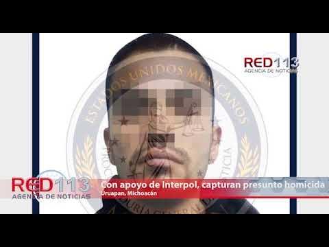 VIDEO Con apoyo de Interpol, capturan presunto homicida