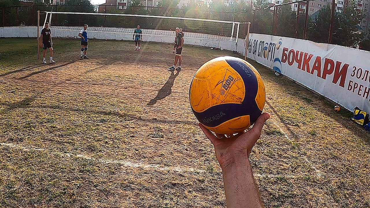 Volleyball First Person 3x3   Masters vs. Amateurs   Playing in the Ground   Highlights 2020