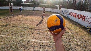 Volleyball First Person 3x3 | Masters vs. Amateurs | Playing in the Ground | Highlights 2020