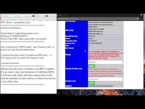 IPTV Server How to Block ISP Provider / Country Lock (iptvnumbers