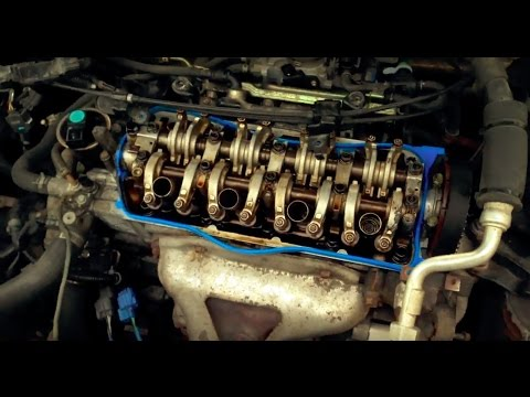 Part 1 Honda Civic D17A1 Cylinder Head Removal With Vtec Swap
