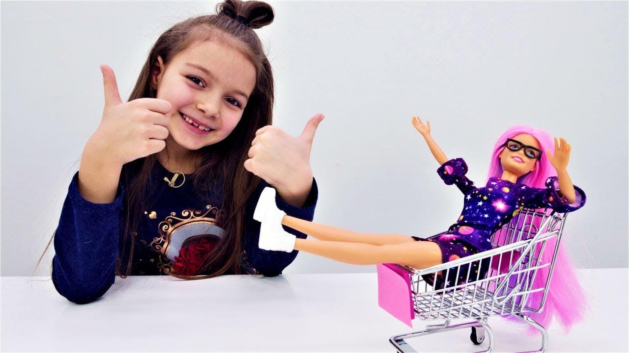 Куклы ЛОЛ и Барби в магазине. Видео для девочек. - YouTube