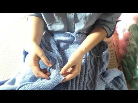 cách chiết nách áo đan p1