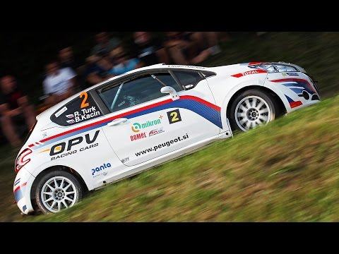 Rok Turk - Blanka Kacin (Peugeot 208 R2) : 2. rally Železniki 2015 - best onboard action
