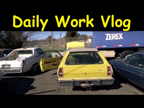 Daily Work Vlog Auto Transport Moving sold Cars to Ship out
