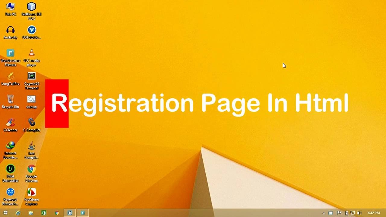 sample html5 page | Template