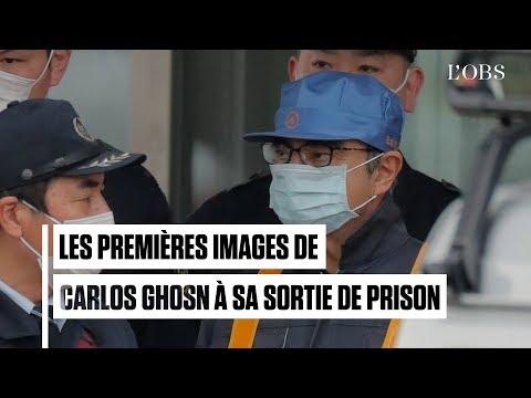 Carlos Ghosn sort de prison après plus de 100 jours de détention