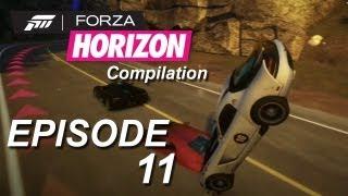 Forza Horizon Compilation: Episode #11 - Crashes