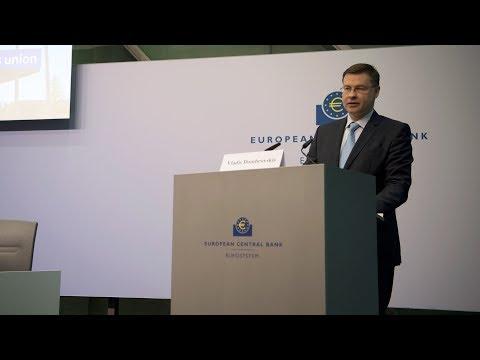 Opening and  Keynote speech Valdis Dombrovskis - 03 May 2018