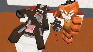 FNAF Monster School: Baby Cow Operation - Minecraft Animation