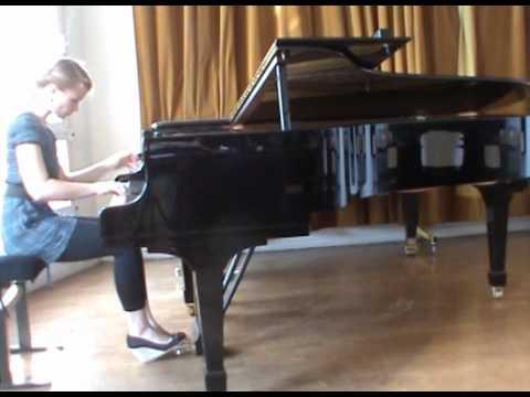 Bach: Fuge Cis-Dur WTK I BWV 848, Katharina Treutler I piano