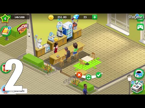 My Cafe: Recipes & Stories Android Gameplay #2