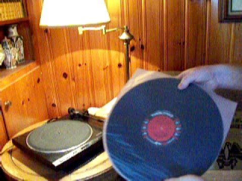 Removing Records From Turntable And Storing