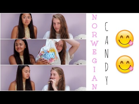 AMERICANS TRY NORWEGIAN CANDY!