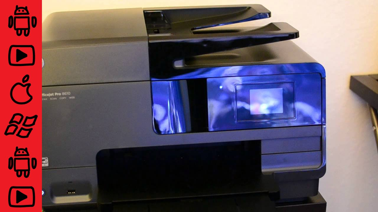 Hp Officejet Pro 8610 Scan To Email Setup Help With