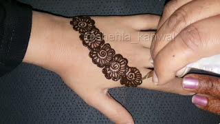 Fancy Mehndi Designs For  Beautiful Kids and Girls 2017:Shehla_kanwal