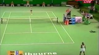 Serena Williams vs Daniela Hantuchova 2006 AO Highlights