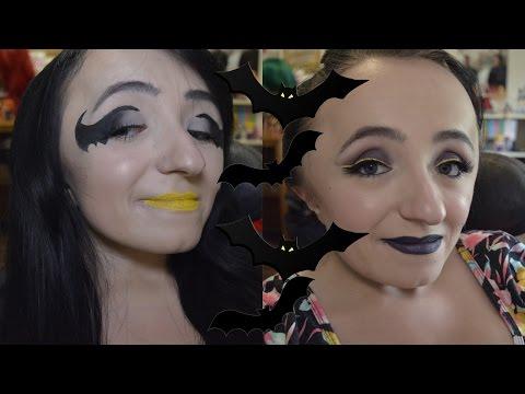 DC COMICS INSPIRED | Batman & Batgirl Makeup