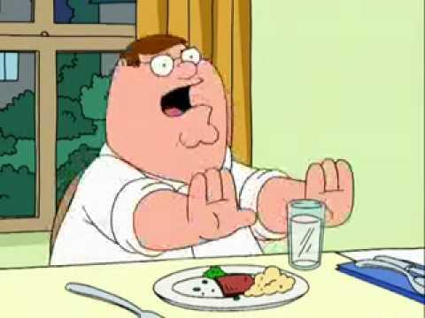Family Guy - Stewie breaks a blood vessel
