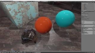 Blender 2.8 Eevee Ep5 AO et le parcours de Réflexion