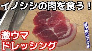 佐賀よかメンバーのはやまんに猪の肉をもらいました! サブチャンネル h...