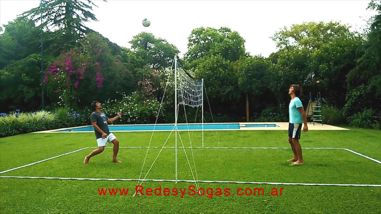 9b89822f07b1d Como armar una cancha de futbol tenis voley - YouTube
