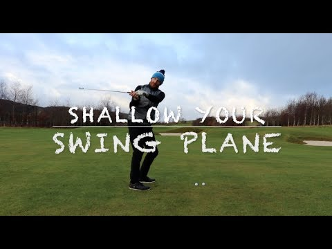 06b51f30d748 Golf swing plane STOP SLICING stop coming over the top - YouTube
