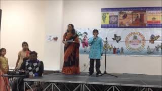 Sai sings poem from Kalahastiswara Satakam
