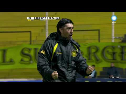 Campeonato de Primera división - Gol de Rodriguez - Olimpo 1 - 0 Godoy Cruz