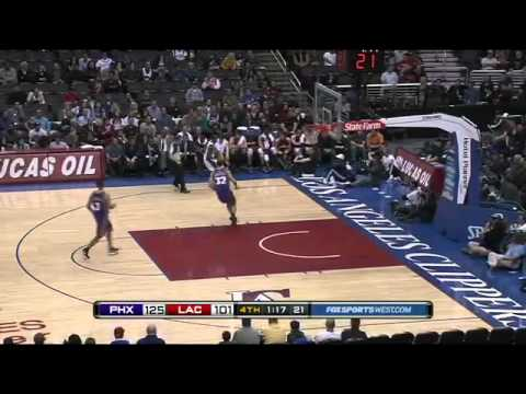 Taylor Griffin Huge Block and Reverse Slam vs Clippers