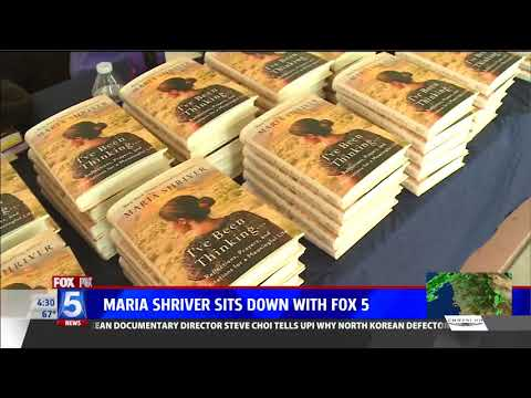 FOX Covers Maria Shriver at the Academy of Our Lady of Peace