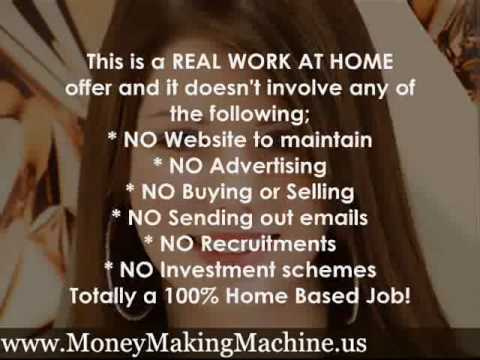 WORK FROM HOME Easy Daily Income Using Your Computer