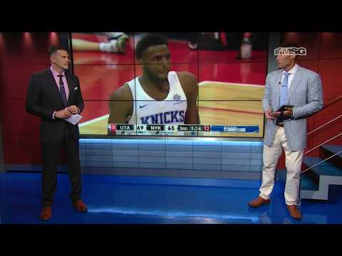 Mitchell Robinson Dominating Defensively | Knicks Night Live | New York Knicks | MSG Networks