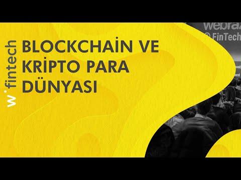 Blockchain ve Kripto Para Dünyası (Erman Taylan)   Webrazzi Fintech 2017