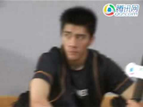 Cai Yun &  Fu Haifeng interview  - 2006 Asian Games