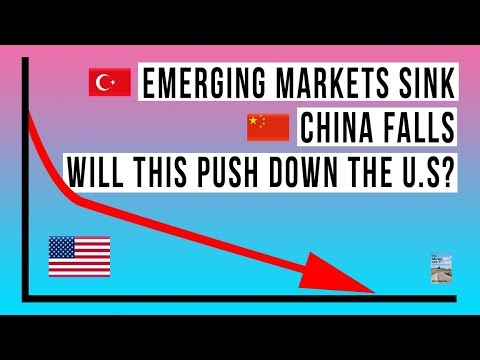 Emerging Market SELL OFF Continues! China Stock Market Falls To 4 Year Low! Turkey Bailout Coming!