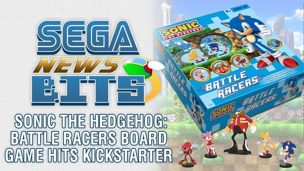 Sonic The Hedgehog Battle Racers Board Game