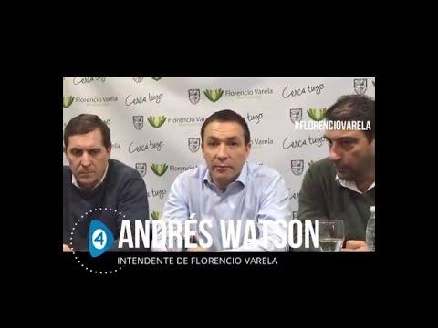 """Watson al presentar la Consejería para Adolescentes: """"Nuestro compromiso es estar cerca de cada uno de los vecinos de Florencio Varela"""""""