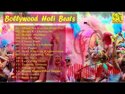 Bollywood Holi Beats 2019 2020  Non Stop Holi Special Songs  Holi Party Songs  Audio Jukebox