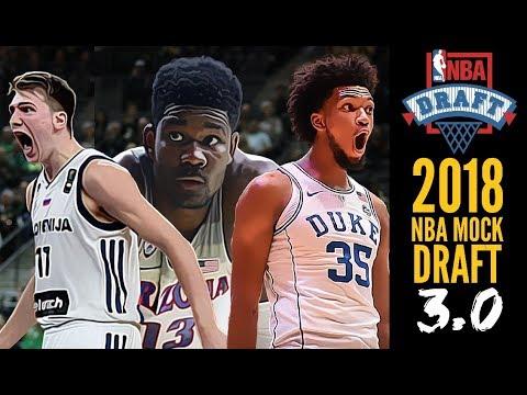 2018 NBA Mock Draft 3.0: Luka Doncic * DeAndre Ayton * Marvin Bagley [1-5]