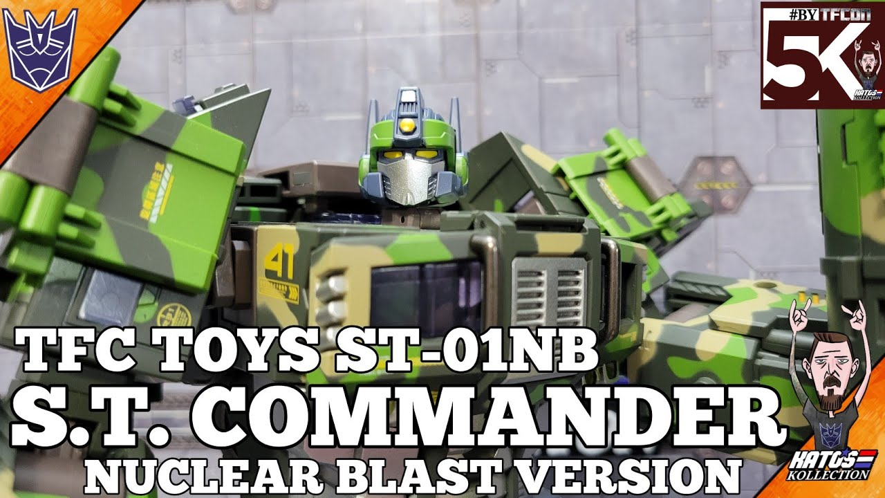 TFC Toys S.T. Commander Nuclear Blast Version Review by Kato's Kollection