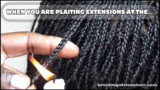 How To Do A Braided African Hair Bob Hairstyle