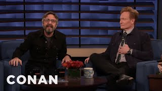 Marc Maron's Issues With Marvel Movies - CONAN on TBS
