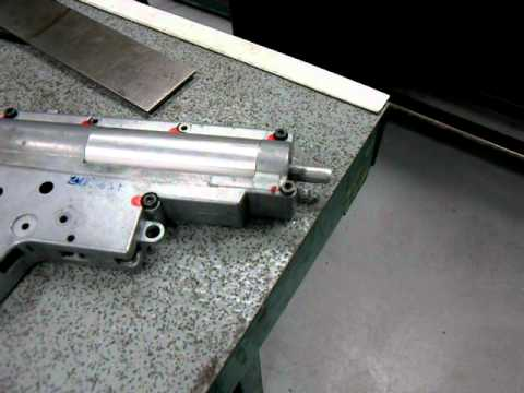 Airsoft HPA Gearbox compressed air power