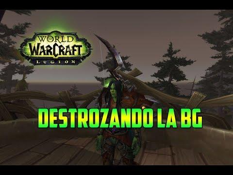 World of Warcraft   CAZADOR PUNTERIA - DESTROZAMOS LA BG - CAMPOS DE BATALLA