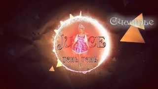 Juice - Тень Тень ( Надежда Бабкина Cover Lyrics Video)