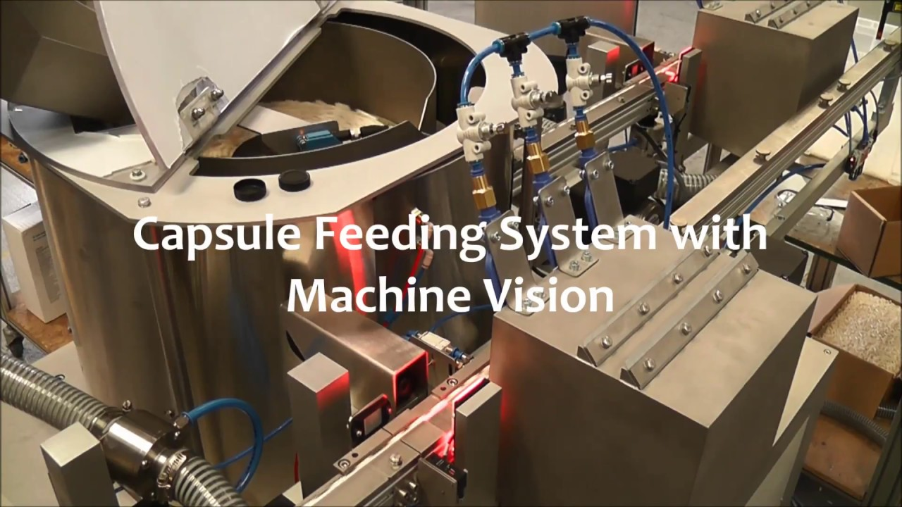 [Centrifugal Feeder] Capsule Feeding System with machine vision - RNA  Automation Ltd